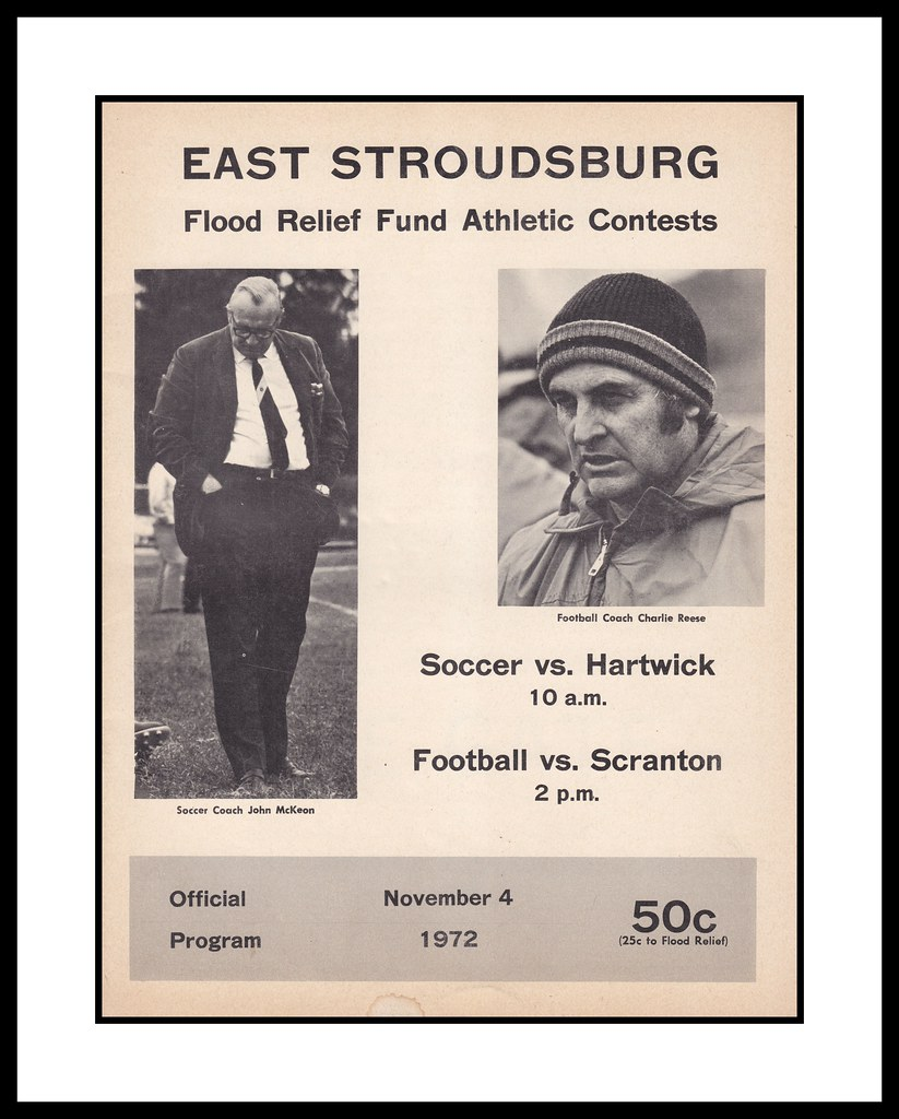 East StroudsBurg University Sports Program, 1972
