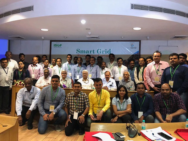 SESSION-1, Inauguration_3 Days Smart Grid Foundation Course_07-09 Aug 2018