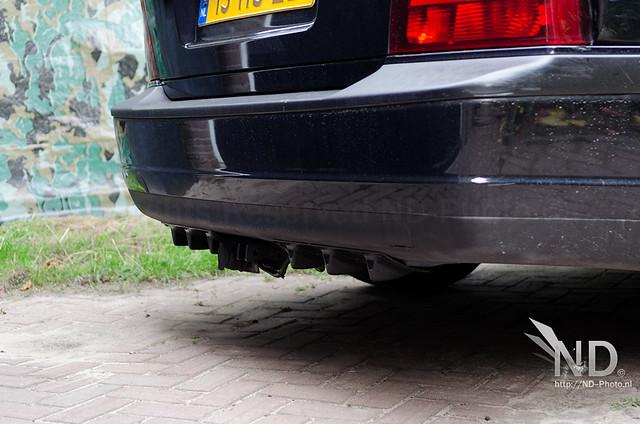 Volvo S80 2.4T Diffuser