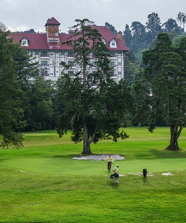 Golf course on Cameron Highlands | by phuong.sg@gmail.com
