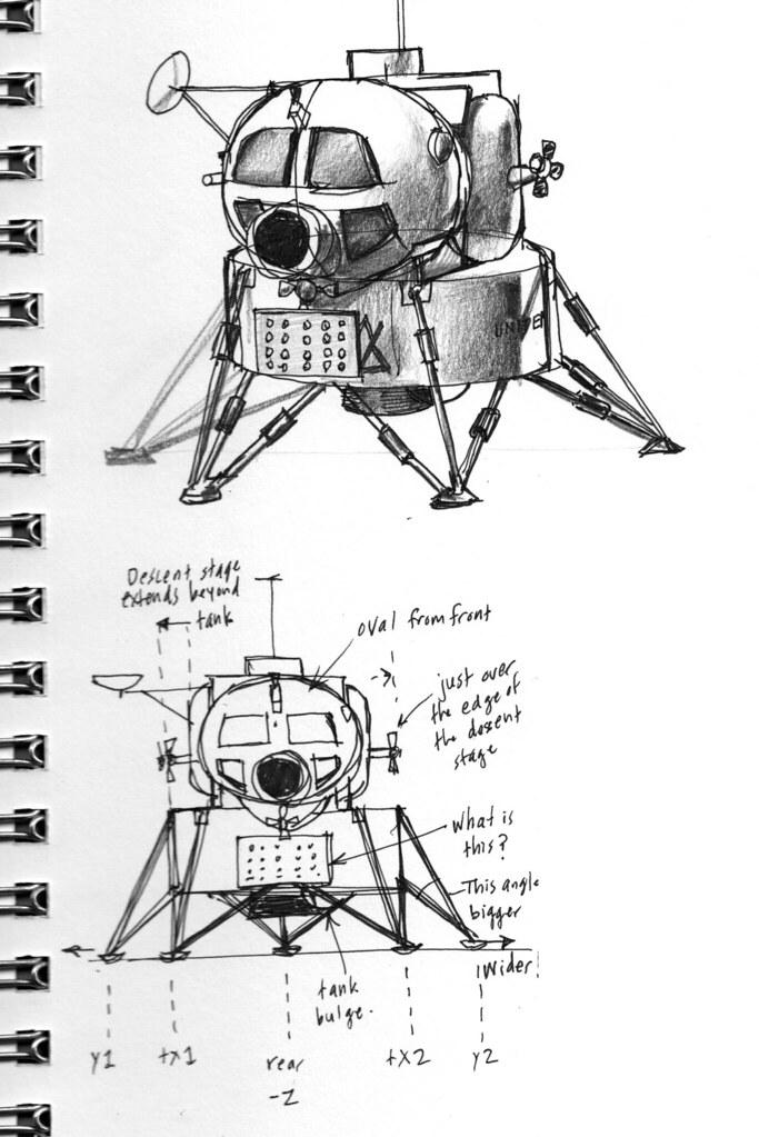 Grumman Early LEM Design