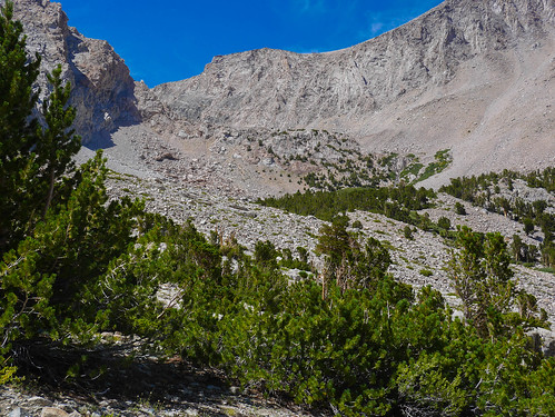 The mess below Junction Pass, seen from Shepherd's Pass trail | by snackronym