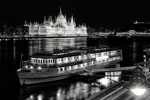 Budapest at night!
