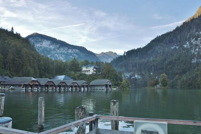 boat houses Königsee-Salet, 603m asl