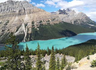 peyto-lake-turquoise | by quirkytravelguy