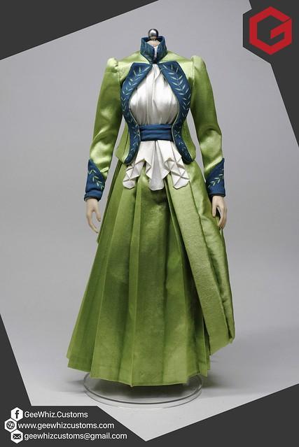 Mina Harker's Victorian Dress from Bram Stoker's Dracula