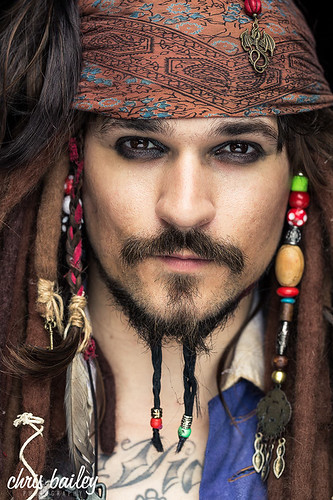Captain Jack Sparrow   by Chris Bailey Photographer