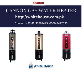 CANNON GAS WATER HEATER (1)