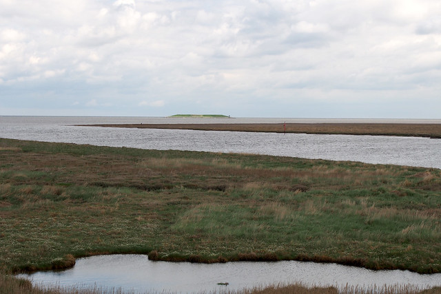 The wash at the mouth of the River Nene