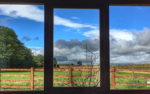 hdr triptych sky yorkshire