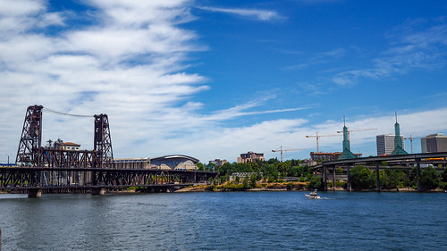 Beautiful Portland Oregon, under construction | by TomCollins