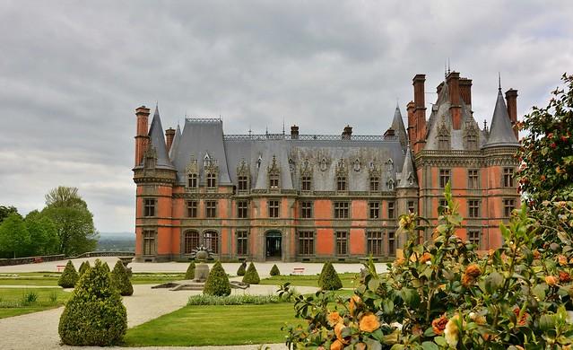 Château de Trévarez à Saint-Goazec (Finistère)