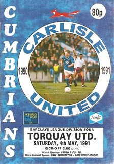 Carlisle United V Torquay United 4-5-1991 | by cumbriangroundhopper