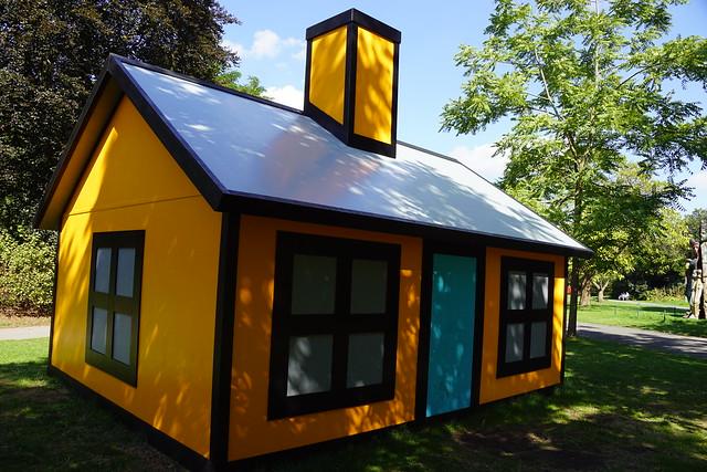 Holiday Home (Regent's Park) 2018, Richard Woods, Frieze Sculpture Park, Regent's Park, Camden, London (11)