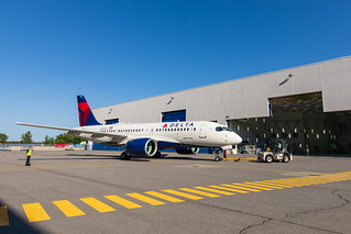 Delta's Airbus A220   by DeltaNewsHub