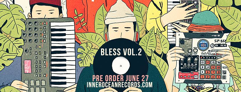 Inner Ocean Records - Bless vol 2   OUT NOW! NEW COMPILATION