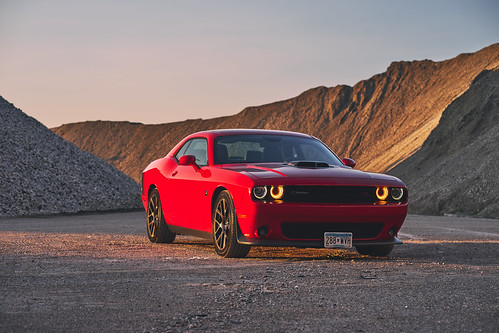 Dodge Challenger Scat Pack | by ericvilendrerphoto