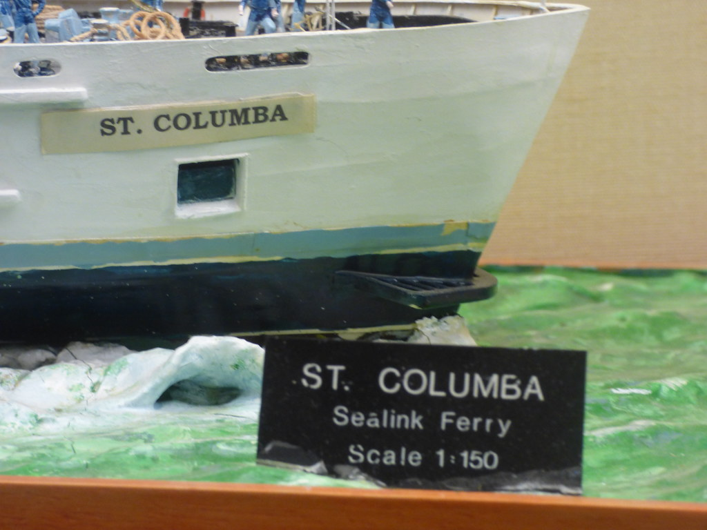 Holyhead Maritime Museum - model ship - Sealink British Fe