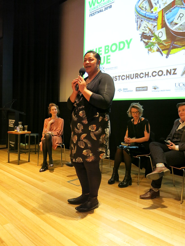 Daisy Speaks at The Body Issue: WORD Christchurch Festival 2018