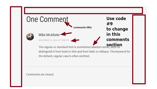 theme Editor by Array  comments section modifications | by wordpress css customization