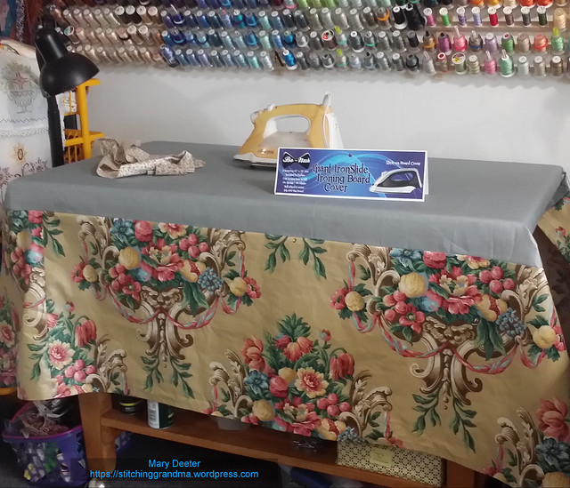 New Ironing board cover