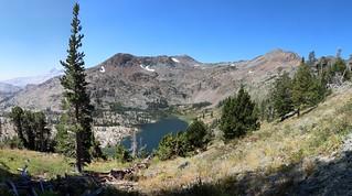 2520 Jacks Peak, Dicks Peak, Half Moon Lake, and Alta Morris Lake from the Pacific Crest Trail | by _JFR_