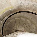 Über diese schmale Wendeltreppe geht es den Turm des Kölner Doms hinauf - und wieder herunter