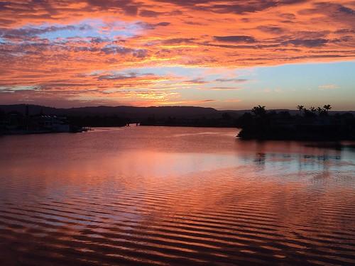 sunset water australia iphone