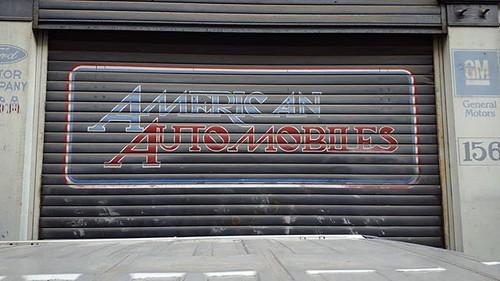 'American Automobiles' - #Brussels #Belgium #architecture #Matonge #americanautomobiles #cars #lines $Samsung #hellhole #Bruxelles #Brussel #Belgie #Belgique #American #automobiles | by Ronald's Photo Factory - www.ronaldgiebel.eu
