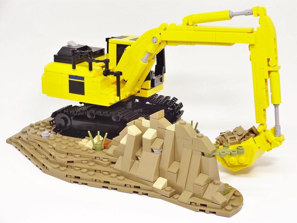 ... Lego MOC Komatsu excavator PC200-11 | by y.akimeshi