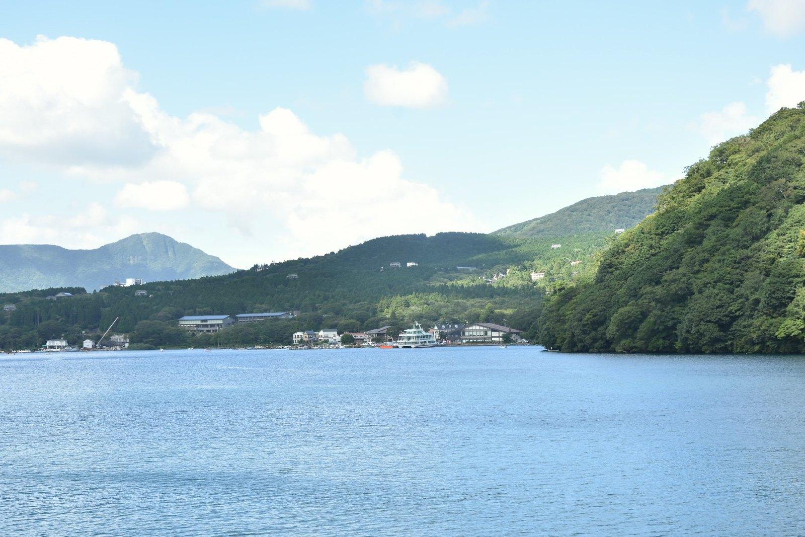 Hakone - croisière sur le lac Ashi