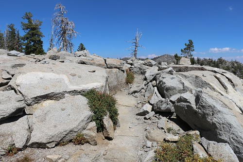 1251 They really blasted away the granite when they built the Tahoe-Yosemite Trail east of Phipps Peak | by _JFR_