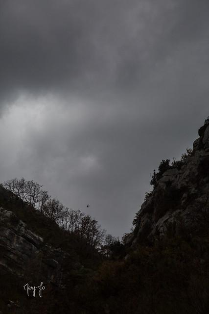 Dans les gorges du Verdon...  In the gorges of Verdon ...