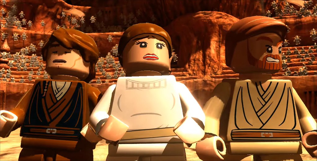 Lego Star Wars 3 Geonosian Arena Wwwoneangrygamernet Flickr