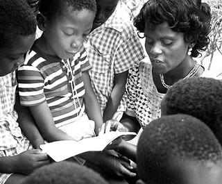 Teacher students Ghana