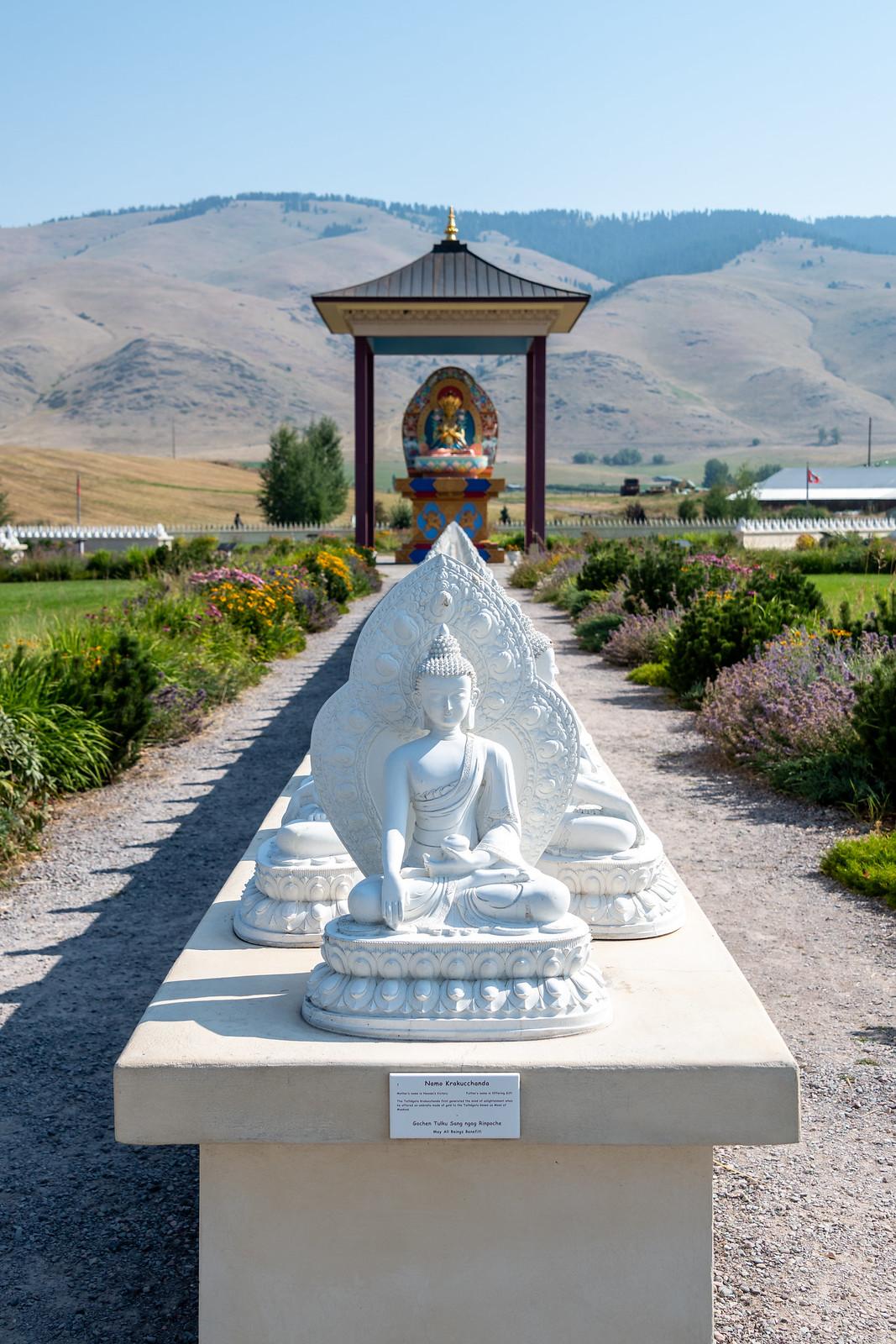 Ewam and Garden of One Thousand Buddhas