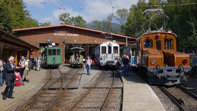 Museumsbahn / Museum Railway Blonay Chamby Schweiz / Switzerland