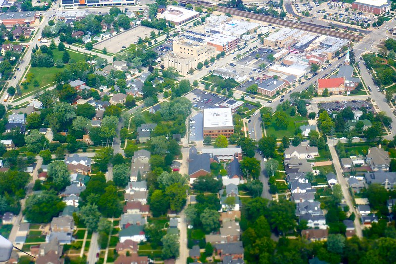Aerial photography, Chicago