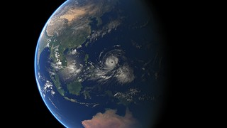 Super-Typhoon Mangkhut | by EUMETSAT