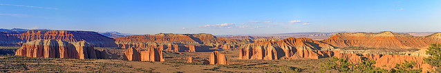 The Cathedrals, Capitol Reef national Park, Utah