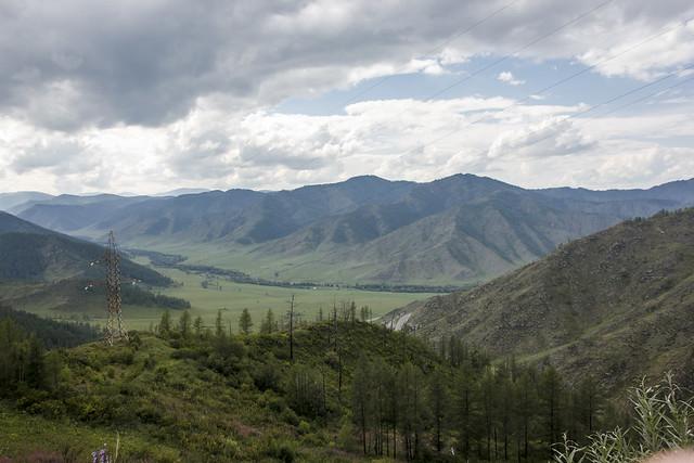 Chike-Taman pass and its surroundings