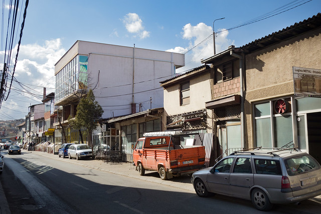 Prishtina - Rruga Lidhja e Prizrenit