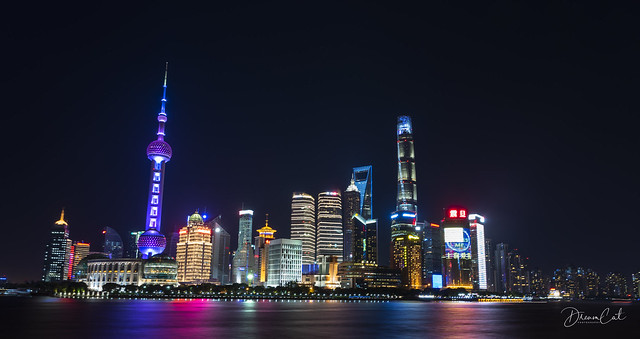 Night view of Pudong