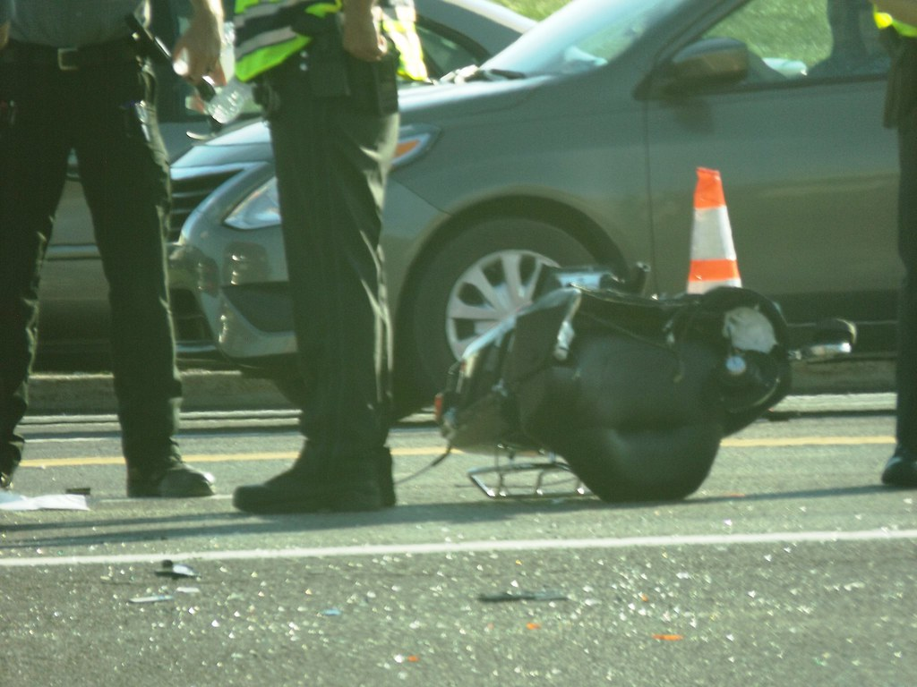 Fatal Motorcycle Accident | Motorcycle was headed west on Ca