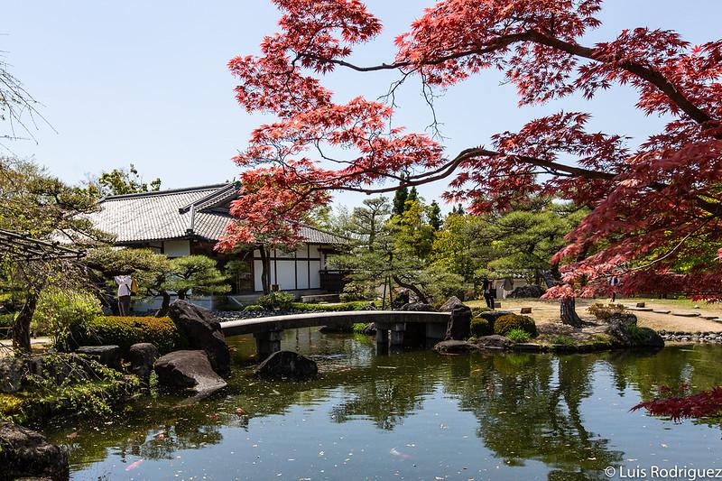 Jardines Kokoen en Himeji
