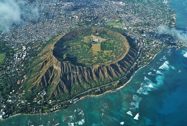 Daimond Head Crater