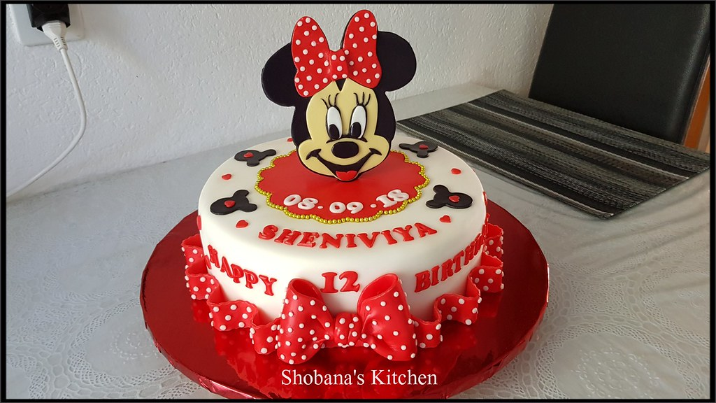 Micky Mouse Cake 12th Birthday