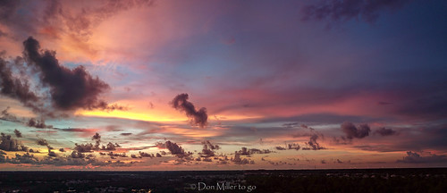 cloudsonfire cloudporn sunsetmadness sunsets nature goldenhour aerial florida mavicpro drone panoramic djimavicpro outdoors sunsetsniper panorama clouds sky panoimages3 venice unitedstates us