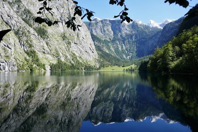 Der Obersee beim Königssee.