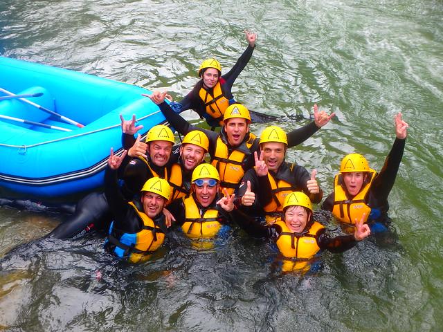 Rafting Montanejos 8 de Septiembre 2018